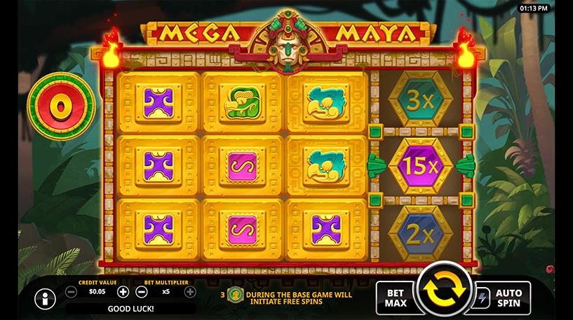 Mega Maya Slot Screenshot 1