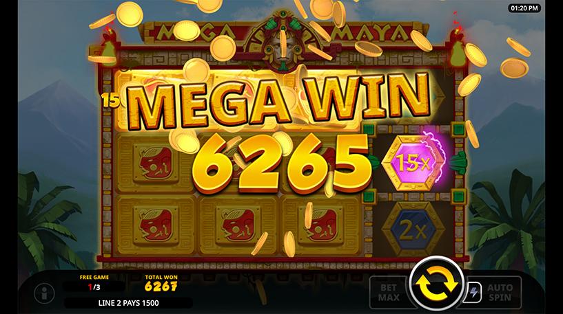 Mega Maya Slot Screenshot 2