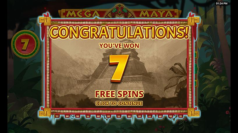 Mega Maya Slot Screenshot 3
