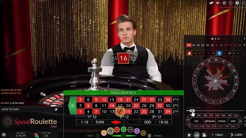 Speed Roulette Screenshot 2