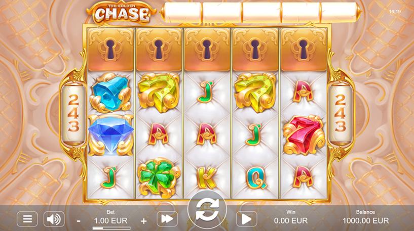 The Golden Chase Slot Screenshot 1