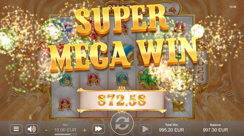 The Golden Chase Slot Screenshot 2