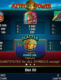 Aztec Power Slot Screenshot 1