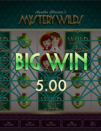Agatha Christie's Mystery Wilds slot Screenshot 3