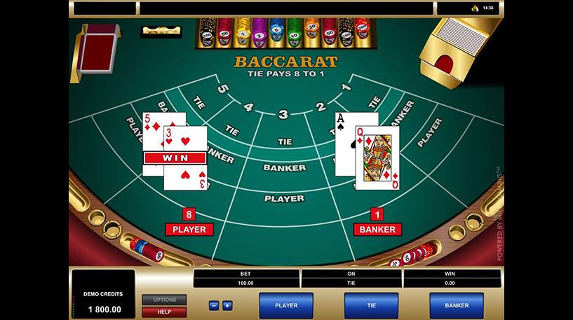 Baccarat Screenshot 1