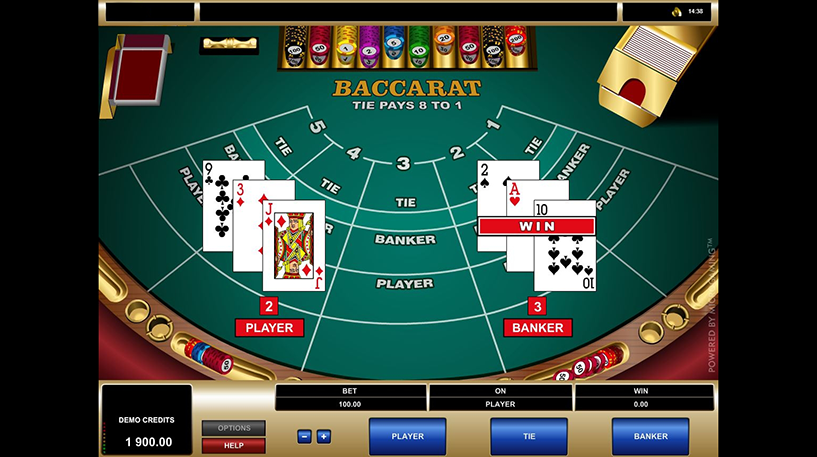 Baccarat Screenshot 2