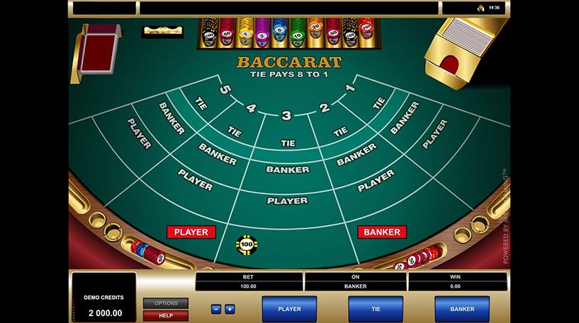 Baccarat Screenshot 3