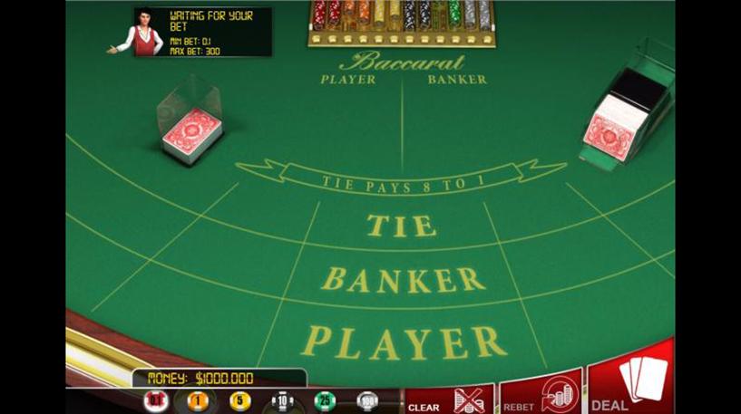 Baccarat en Banque Screenshot 2