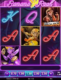 Banana Rock Slot Screenshot 3