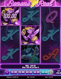 Banana Rock Slot Screenshot 2