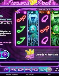Banana Rock Slot Screenshot 1