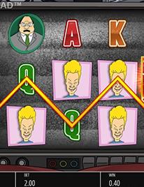 Beavis and Butthead Slot Screenshot 2