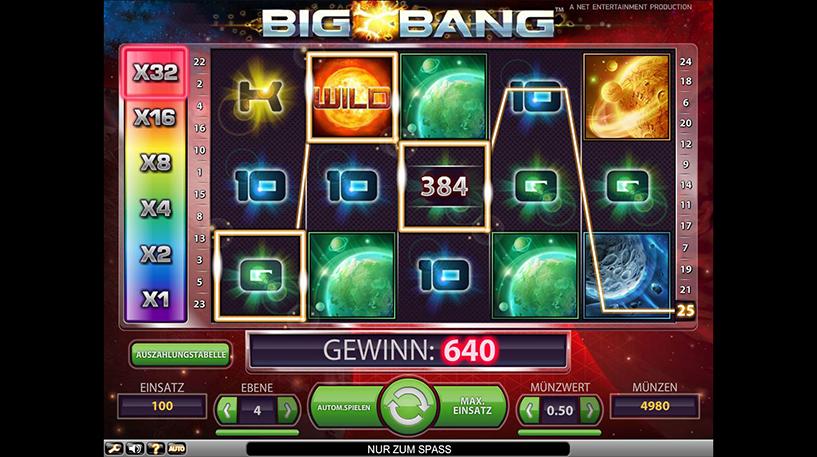 Big Bang Slot Screenshot 1