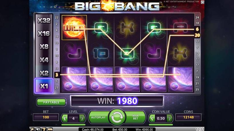 Big Bang Slot Screenshot 2