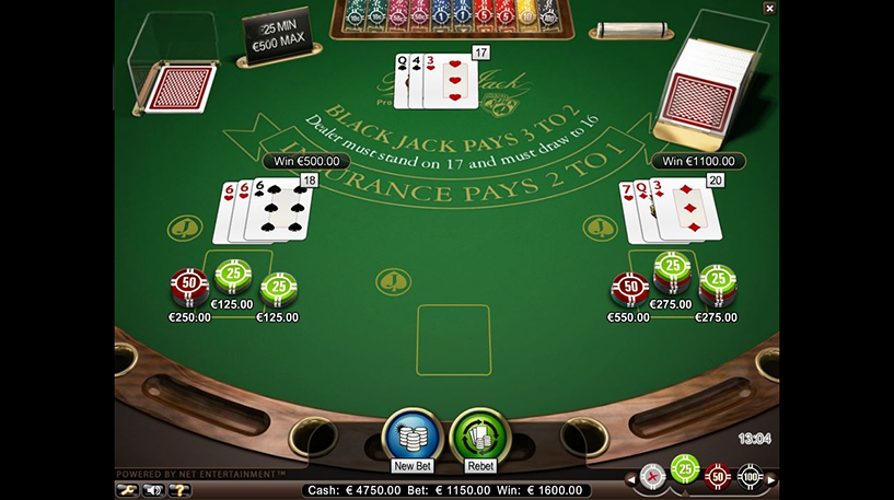 Blackjack Professional Series Screenshot 3