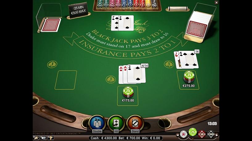 Blackjack Professional Series Screenshot 1