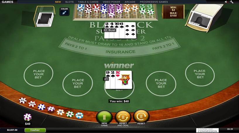 Blackjack Surrender Screenshot 2