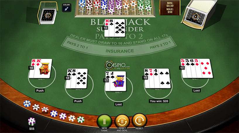 Blackjack Surrender Screenshot 3