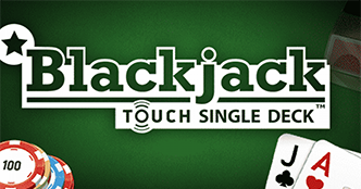 Blackjack Touch Single Deck