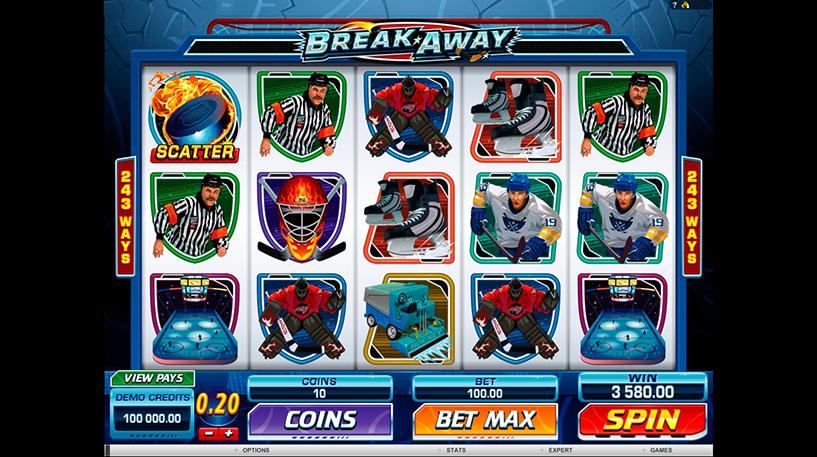 Break Away Slot Screenshot 1