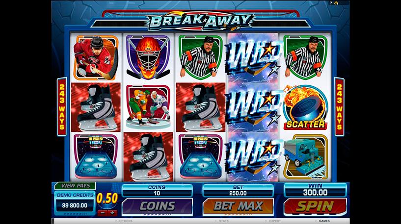 Break Away Slot Screenshot 2