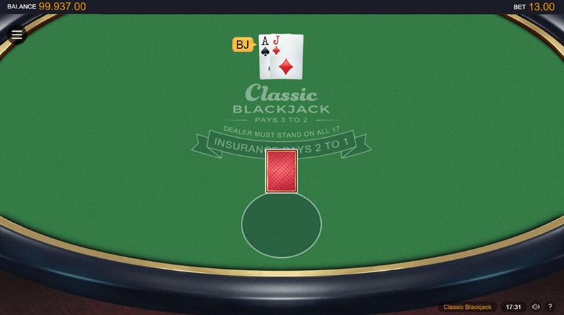 Classic Blackjack Screenshot 2