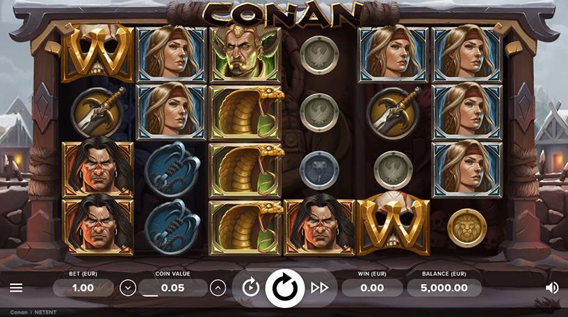 Conan Slot Screenshot 1