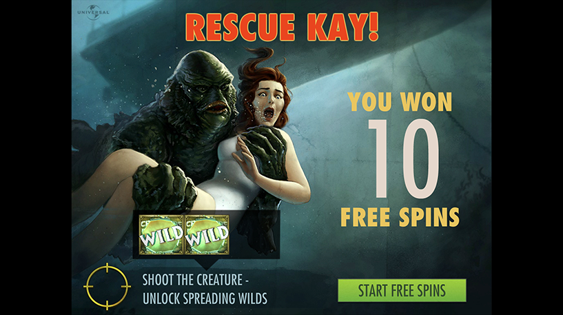 Creature From Black Lagoon Slot Screenshot 3