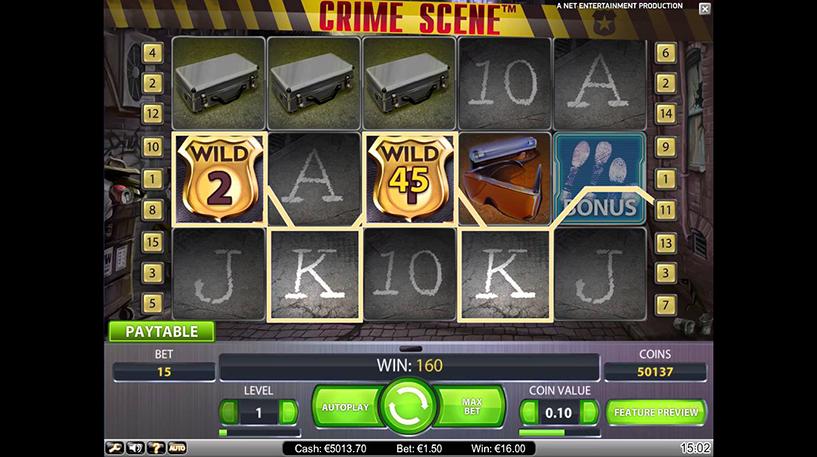 Crime Scene Slot Screenshot 2