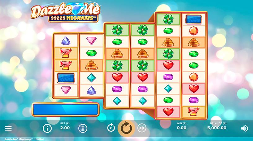 Dazzle Me Megaways Screenshot 3