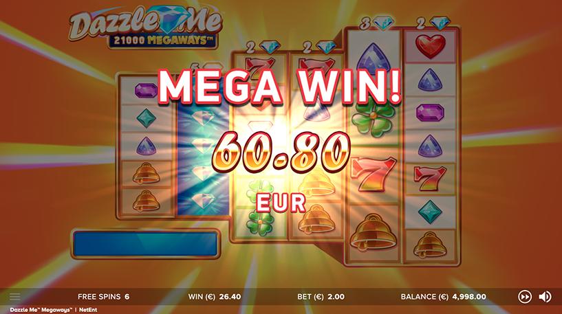 Dazzle Me Megaways Screenshot 2
