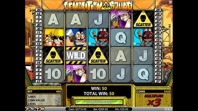 Demolition Squad Slot Screenshot 3