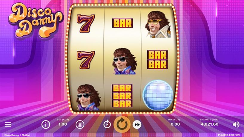 Disco Danny Slot Screenshot 1