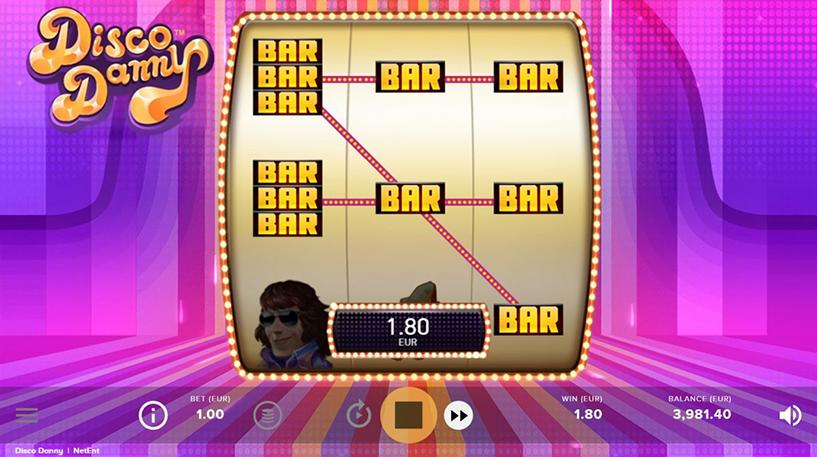 Disco Danny Slot Screenshot 2