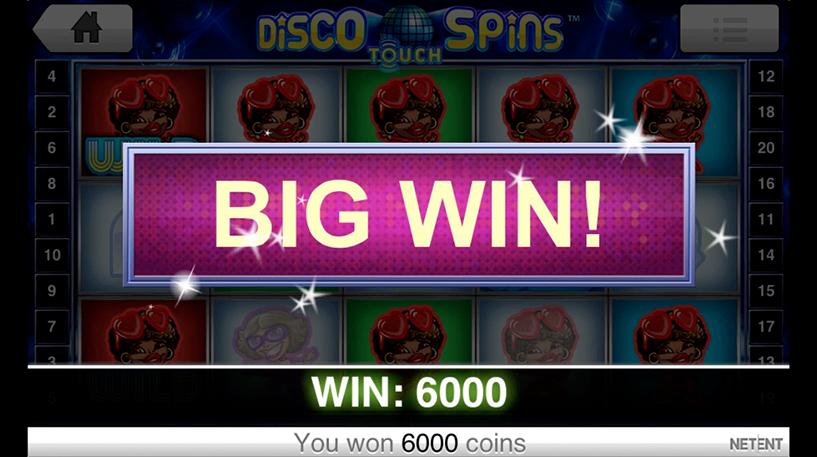Disco Spins Slot Screenshot 3