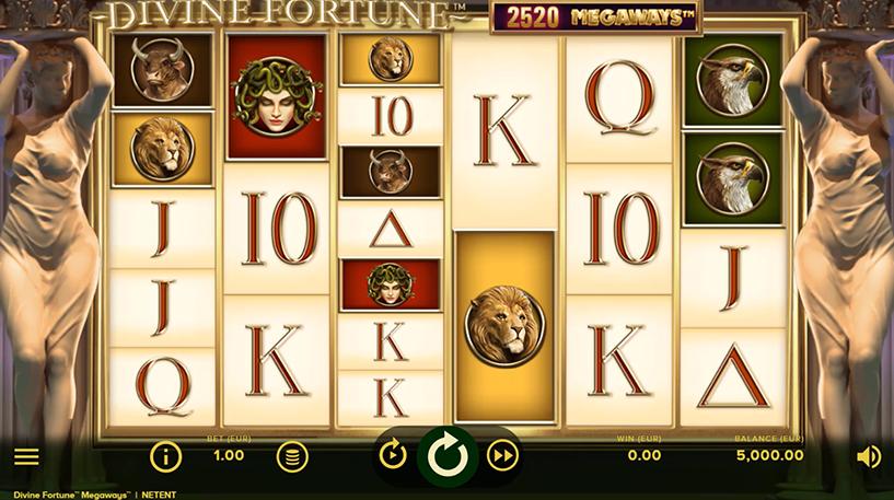 Divine Fortune Megaways Slot Screenshot 1