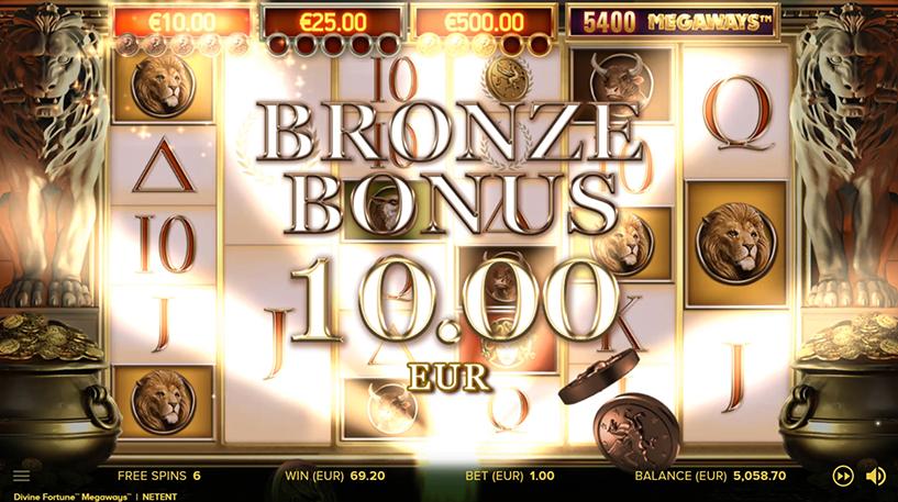 Divine Fortune Megaways Slot Screenshot 2
