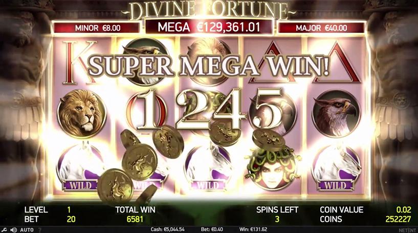 Divine Fortune Slot Screenshot 1