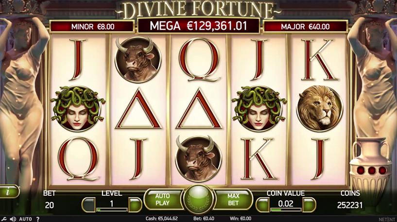 Divine Fortune Slot Screenshot 2
