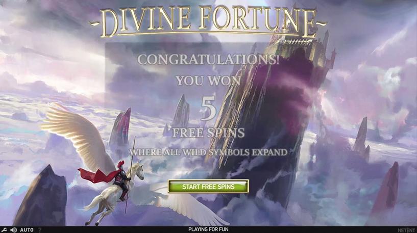 Divine Fortune Slot Screenshot 3