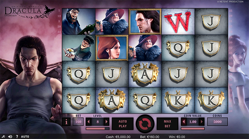Dracula Slot Screenshot 3