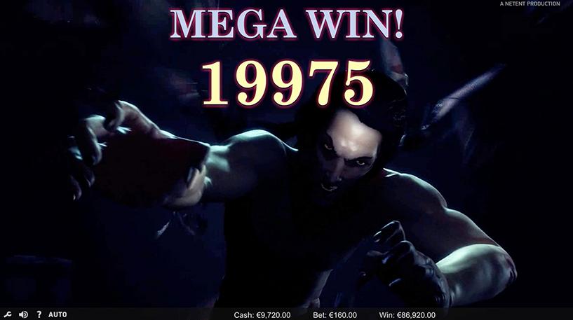 Dracula Slot Screenshot 2