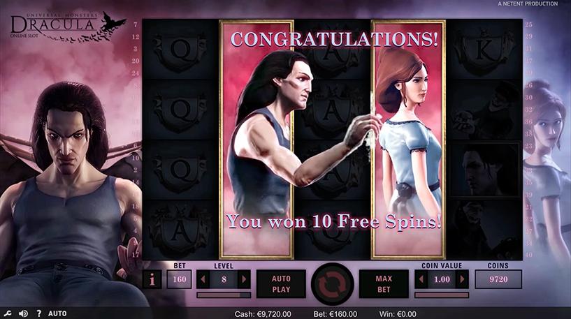 Dracula Slot Screenshot 1