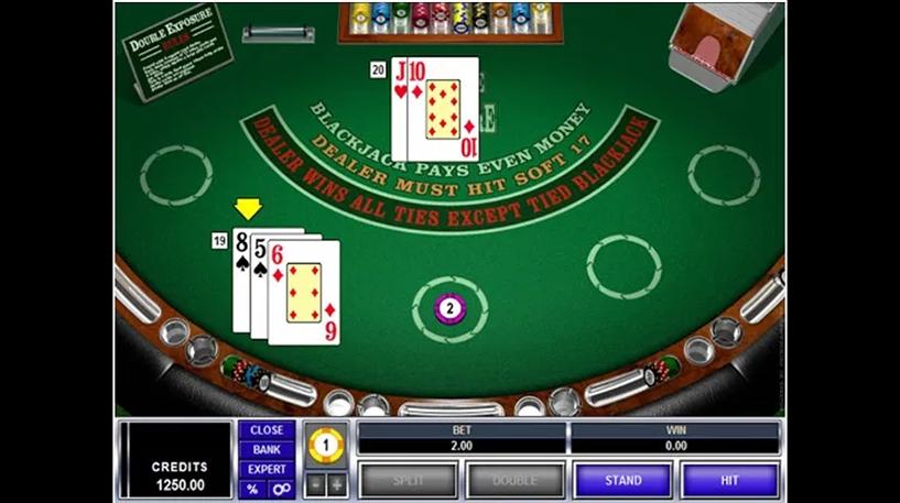 Face Up 21 Blackjack Screenshot 2