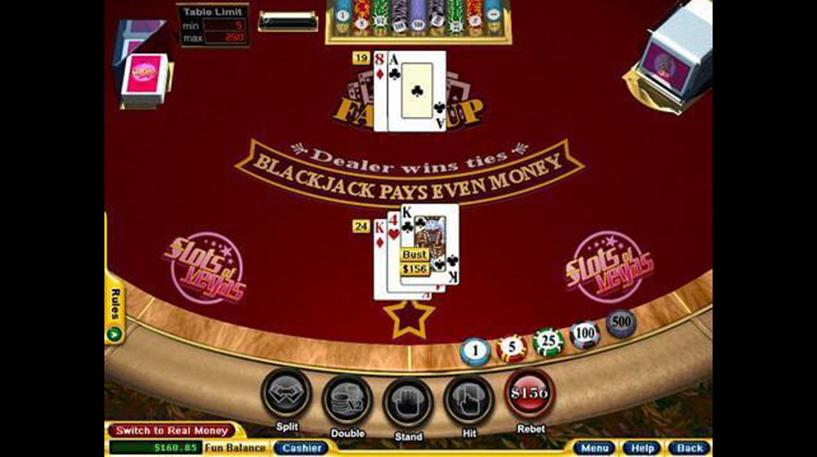 Face Up 21 Blackjack Screenshot 3