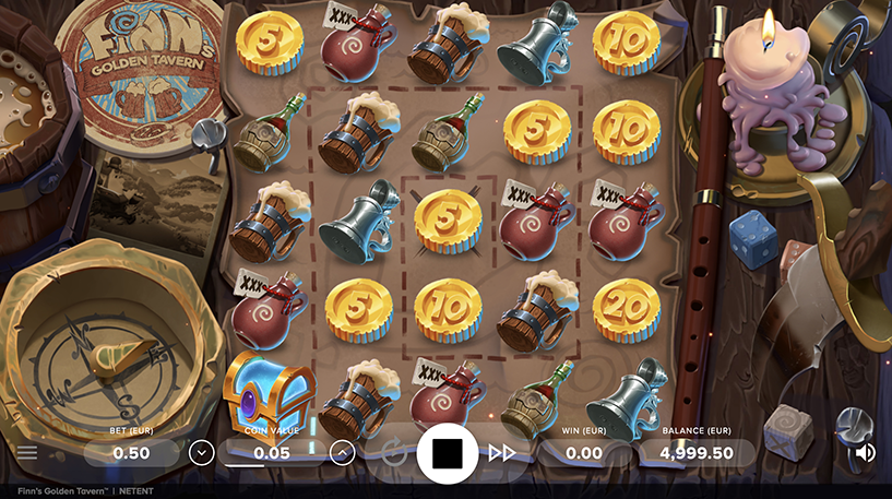 Finn's Golden Tavern Slot Screenshot 3