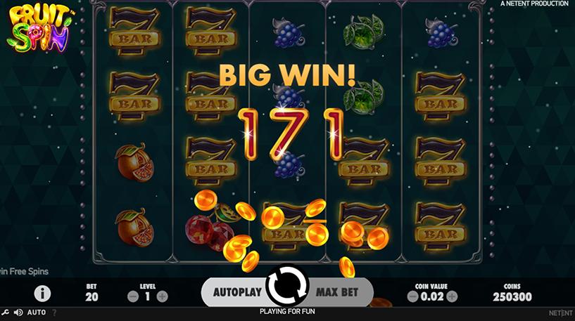 Fruit Spin Slot Screenshot 2