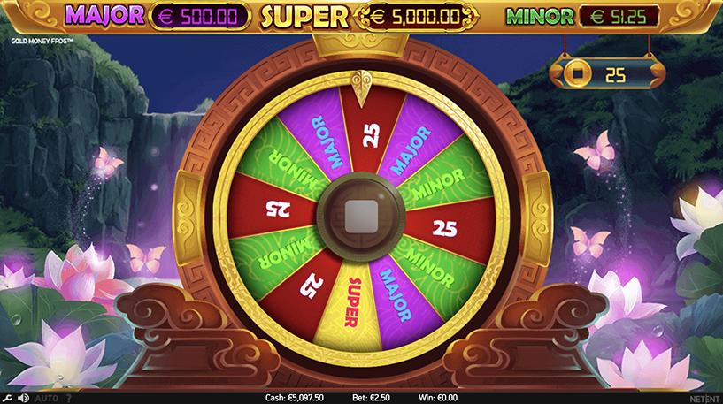 Gold Money Frog Slot Screenshot 3