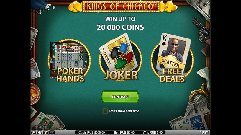 Kings of Chicago Slot Screenshot 1