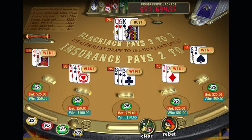 Progressive Blackjack Screenshot 3